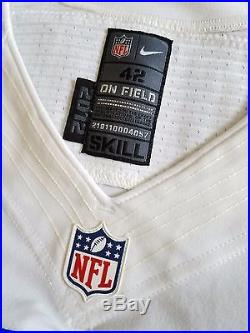 Nike Dallas Cowboys On Field Game Authentic Jersey Player Team Issued Skill 42