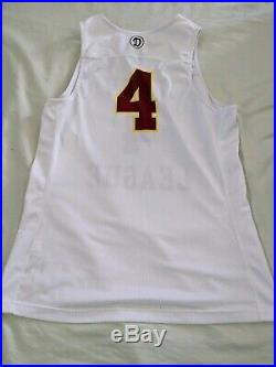 Nike Drew League Game Worn Used Basketball Jersey Team Issued KD Harden PE