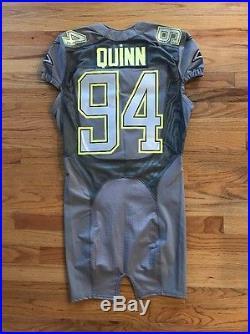 Nike Game Team Issued Robert Quinn St Louis LA Rams Pro Bowl Jersey Nfl COA