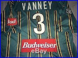 Nike LA Galaxy 1998 MLS #3 Greg Vanney Player Issue Game Soccer Jersey XL