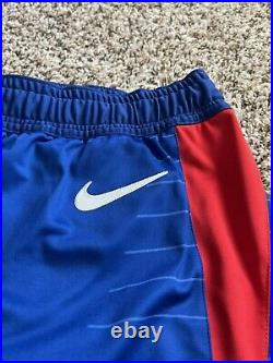 Nike NBA LA Clippers Team Issued Authentic Pro Cut Basketball Game Shorts Sz44+2