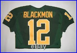 Nike Oregon Ducks Devon Blackmon Team Issue Football Jersey Game Worn Sz. 42 S