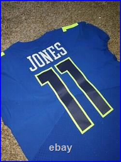 Nike Team Issue Julio Jones Falcons 2016 NFL Pro Bowl Football Jersey Sz 44 Game