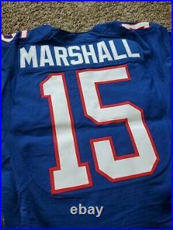 Nike Team Issued Brandon Marshall Bears 2012 NFL Pro Bowl Football Game Jersey