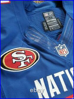 Nike Team Issued Donte Whitner 49ers 2012 NFL Pro Bowl Football Jersey 42 Game