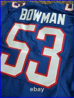Nike Team Issued Navorro Bowman 49ers 2012 NFL Pro Bowl Football Jersey 42 Game