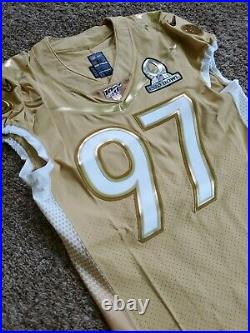Nike Team Issued Nick Bosa 49ers 2019 NFL Pro Bowl Football Jersey 42 Game