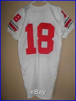 Ohio State Buckeyes Game Used/ Issued Football Jersey All Sewn