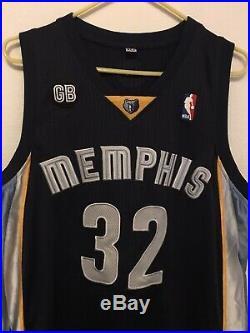 OJ Mayo Memphis Grizzlies 2010-11 Game Worn Team Issued NBA Jersey Sewn #32