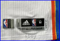 OKC Thunder Nba Finals 2012 Meigray Game Issued Used Jersey Rev30 Mesh M+2 Paul