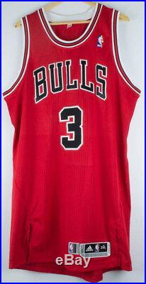 OMER ASIK CHICAGO BULLS GAME WORN TEAM ISSUE PRO CUT JERSEY With SER #D & L+2 TAGS