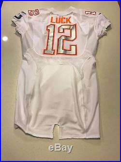 One Of A Kind NFL Andrew Luck Jersey Pro Bowl Game Day Issue Psa Dna Authentic