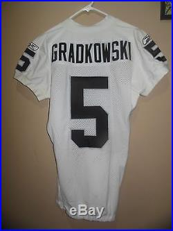 Oakland Raiders Game Issued/Worn Jersey