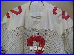 Ohio State Buckeyes Classic Vintage Game Issued Football Jersey