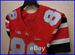 Ohio State Buckeyes Game Used / Issued Rivalry Jersey Nike Size 42
