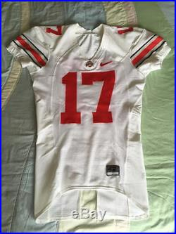 Ohio State Buckeyes Todd Boeckman Nike Elite Authentic Game Used Issued Jersey