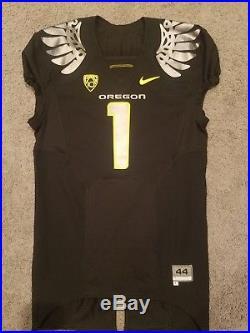 Oregon Ducks Darron Thomas Team Issued Un Used Worn Game Jersey 2010 Wing UW UNM