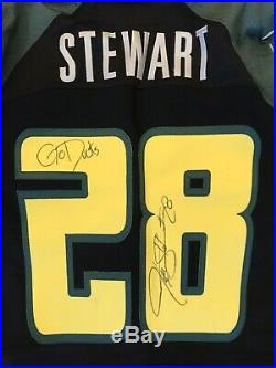 Oregon Ducks Football Team Issued Jonathan Stewart Game Jersey Signed/Inscribed