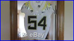 Oregon Ducks Game Issued Used Jersey sz 40