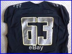 Oregon Ducks Game Worn/Issued Jersey Jersey Size 48L GREIG