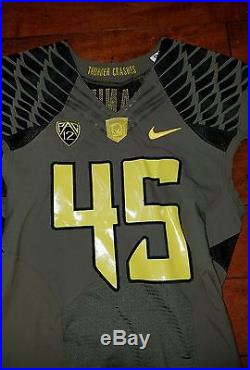Oregon ducks military authentic game jersey issued