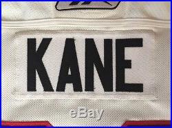 Patrick Kane Chicago Blackhawks Game issued Reebok Edge 2.0 autographed Jersey