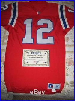 Patriots Game Issue 1992 Home Jersey