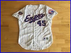 Pedro Martinez Expos 1997 CY Jersey Game Issued Un Used Un Worn Pro Cut Red Sox