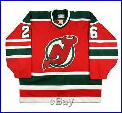 Peter Stastny New Jersey Devils Pro-cut Game Issued NHL Jersey