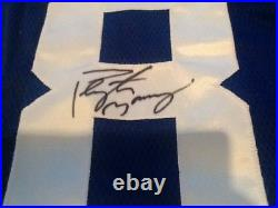 Peyton Manning Signed Autographed Authentic Game Issued Reebok Jersey Steiner
