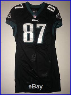 Philadelphia Eagles BRENT CELEK GAME ISSUED WORN USED Jersey TE for Carson Wentz