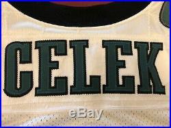 Philadelphia Eagles Brent Celek Game/Team Issued Signed Authentic Jersey