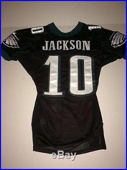 low priced b06d3 ffedd Philadelphia Eagles DESEAN JACKSON GAME ISSUED WORN Jersey ...
