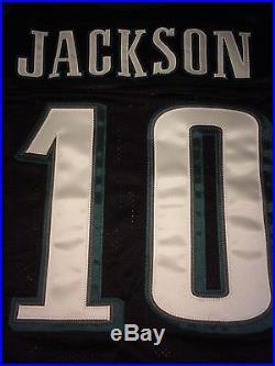 Philadelphia Eagles DESEAN JACKSON GAME ISSUED WORN Jersey Nick Foles Wentz