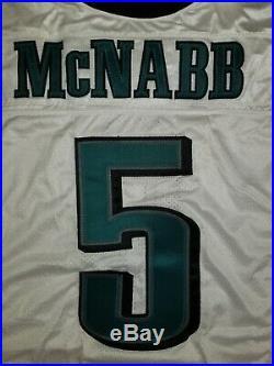 Philadelphia Eagles Game Issued DONOVAN McNABB 2004 Jersey Team Worn Used NFL