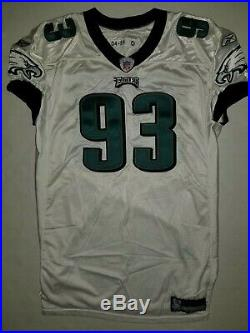 Philadelphia Eagles Game Issued JEVON KEARSE Jersey 04 Team Used Worn NFL Titans