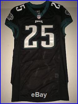 Philadelphia Eagles LESEAN McCOY GAME ISSUED TEAM WORN NFL Jersey Carson Wentz