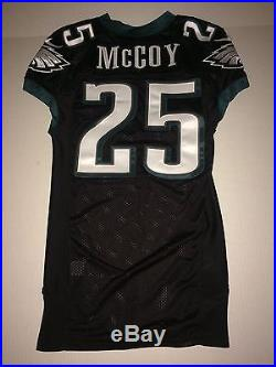 Philadelphia Eagles LESEAN McCOY GAME ISSUED TEAM WORN USED Jersey Buffalo Bills