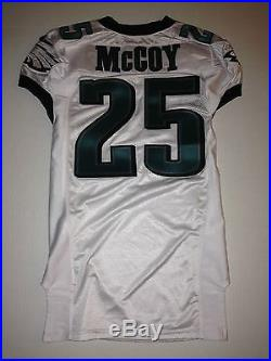 Philadelphia Eagles LESEAN McCOY GAME ISSUED WORN USED Jersey Buffalo Bills RARE