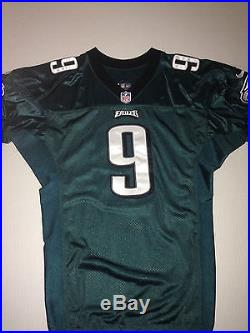 huge selection of d8e19 44eae Philadelphia Eagles NICK FOLES GAME ISSUED WORN USED Jersey ...