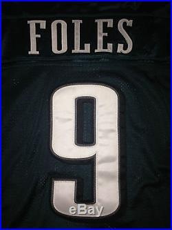 Philadelphia Eagles NICK FOLES GAME ISSUED WORN USED Jersey Carson Wentz RARE