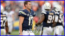 Phillip Rivers 2014 San Diego Chargers Player Issued Nike Authentic Game Jersey