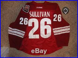 Phoenix Coyotes #26 Steve Sullivan 12/13 Home Set 1 Game Issued Jersey withTeamLOA