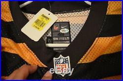 Pittsburgh Steelers Game-issued 1933 Throwback Zoltan Mesko jersey