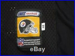 Pittsburgh Steelers Team Issued Hines Ward 2001 Authentic Game Jersey