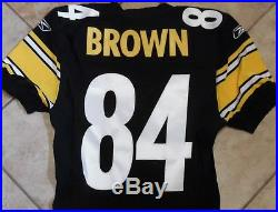 Pittsburgh Steelers Team Issued Jersey 2010 Antonio Brown Game Jersey Home