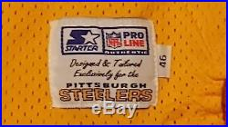 Pittsburgh Steelers Team Issued Starter 1994 Throwback Authentic Game Jersey COA