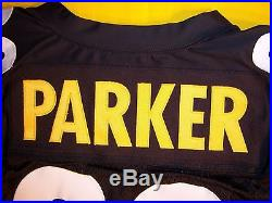 Pittsburgh Steelers Willie Parker 2007 Team Issued Game Jersey Gm Cut 75th Seas