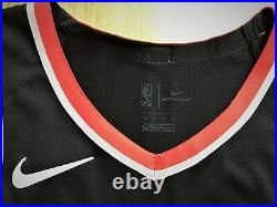 Portland Trail Blazers blank game issued pro cut authentic nike jersey 48+4