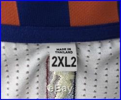 Porzingis Knicks Game Issued Rookie Jersey HWC Hardwood Classics Adidas Rev30